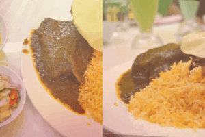 Nasi beriani Johor Shahza di Shah Alam