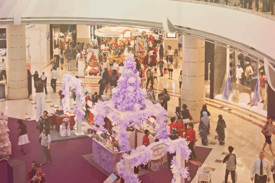 Shopping at Suria KLCC
