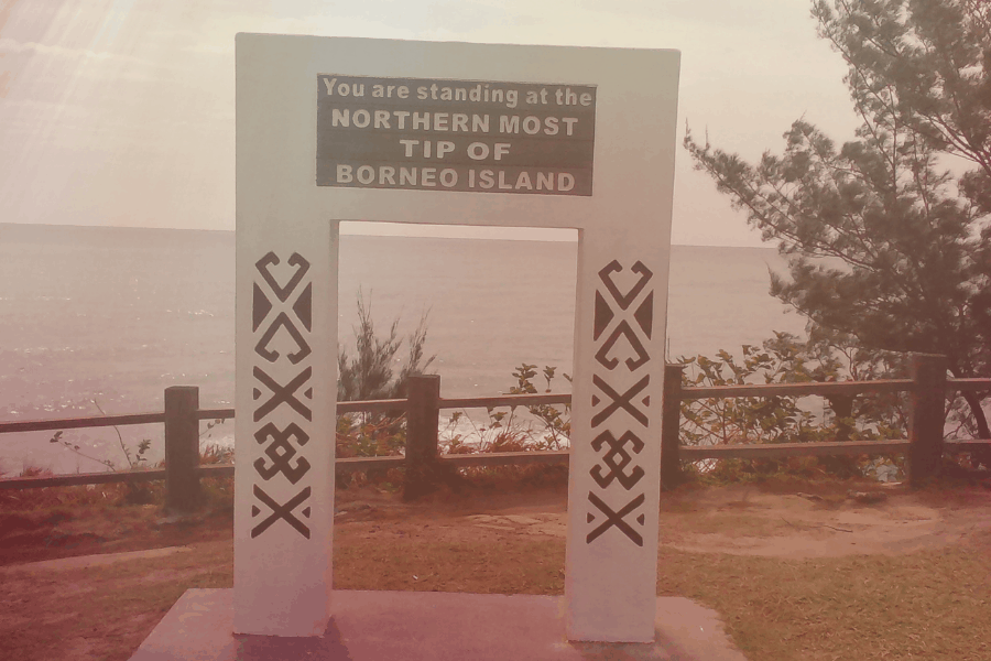 Northernmost tip of Borneo in Kudat