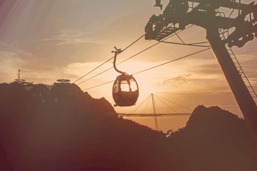 Kereta Kabel, tarikan tempat menarik di Langkawi