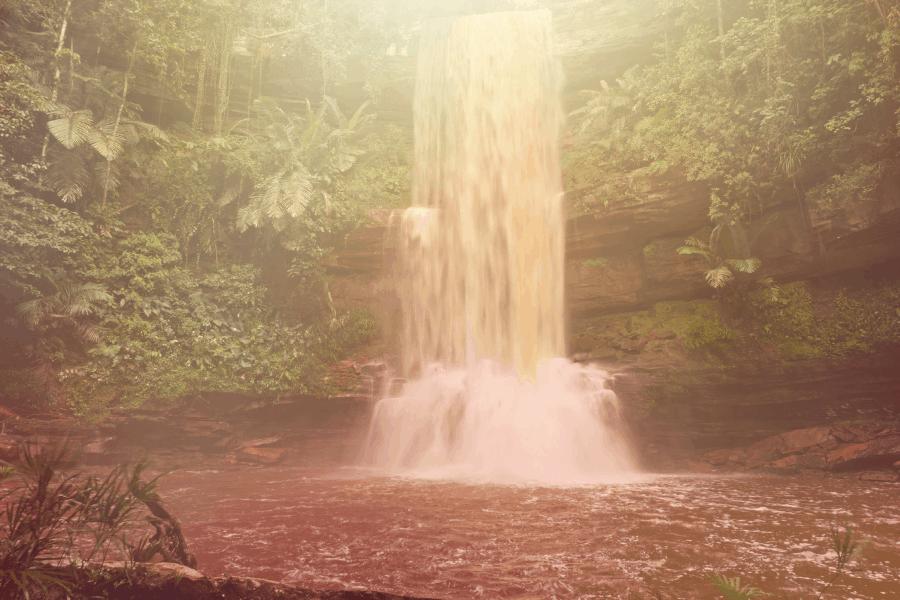 Tawau Table Waterfall