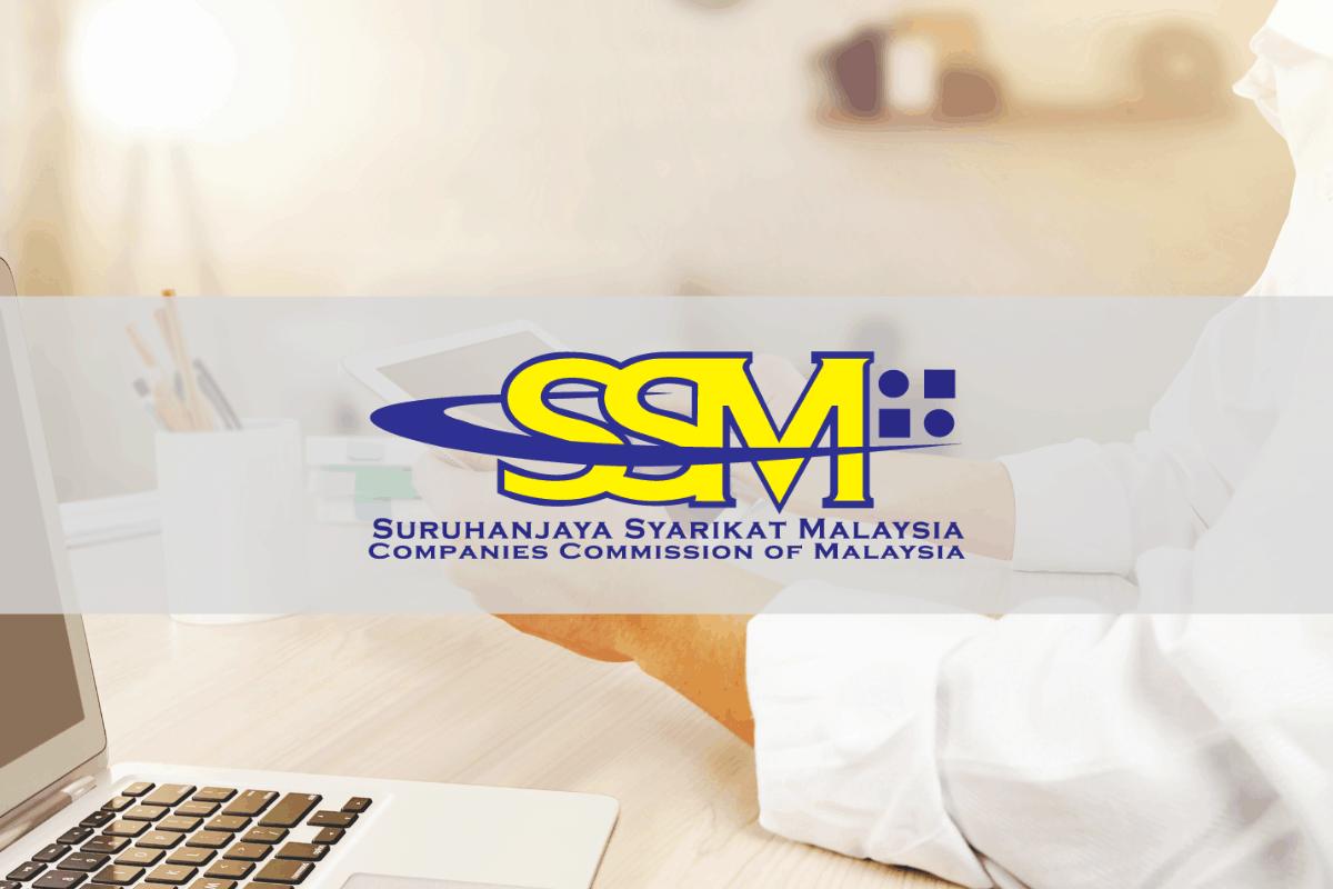 Semak nama syarikat yang berdaftar SSM